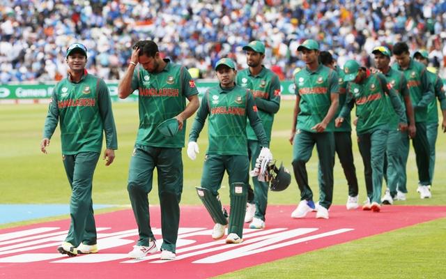 Bangladesh Cricket Team - Bangladesh alter World Cup cricket strip following uproar over design
