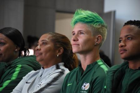 Banyana - Banyana offered equal bonus carrot as Bafana