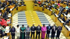 MPs being sworn in
