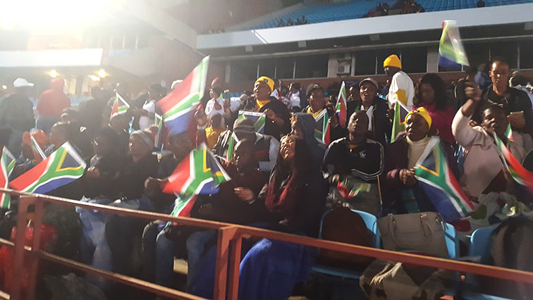 SABC NEWS Antoinette - Members of public excited about attending inauguration