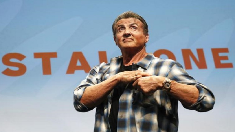 SABC NEWS Rocky star Stallone.R - Rocky star Stallone says he never expected to make it in movies