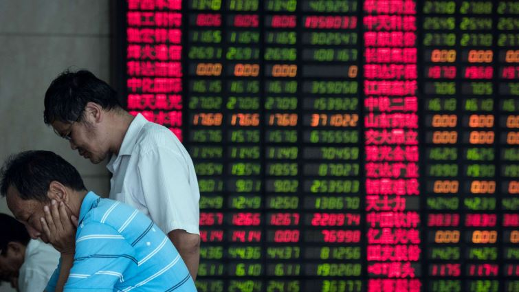 SABC News Asian Market AFP - Asian markets stuck in the red as traders await crunch talks