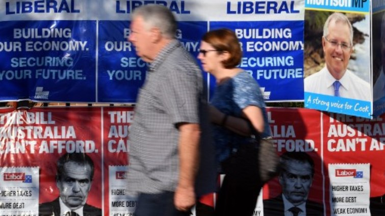 SABC News Australia elections AFP - Voting under way in climate-dominated Aussie election