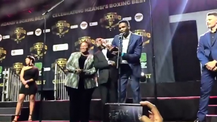 SABC News Boxing Twitter - Boxer of the Year Award to boost Mbenge in Germany in July