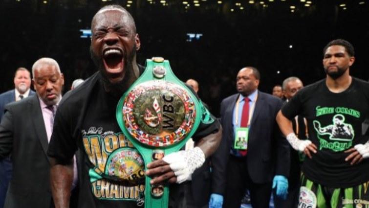 SABC News Boxing Wilder AFP - Wilder retains WBC heavyweight title with brutal first round KO