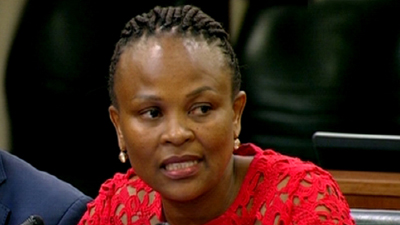 SABC News Busisiwe Mkhwebane 1 - Court to deliver judgement on CASAC's request to exclude Mkhwebane
