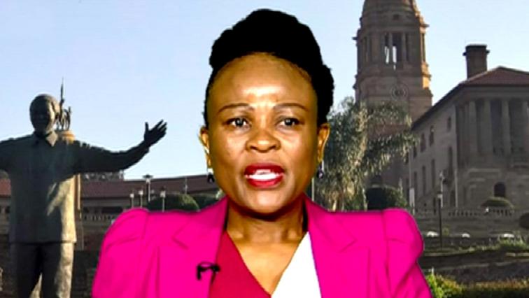 SABC News Busisiwe Mkhwebane 2 - Magashule not implicated in report: Mkhwebane