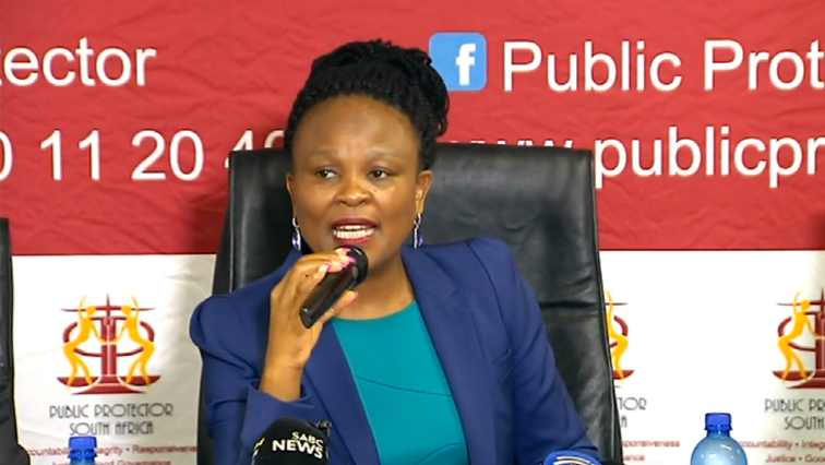 SABC News Busisiwe Mkhwebane - EFF calls for fresh investigation into Estina dairy project
