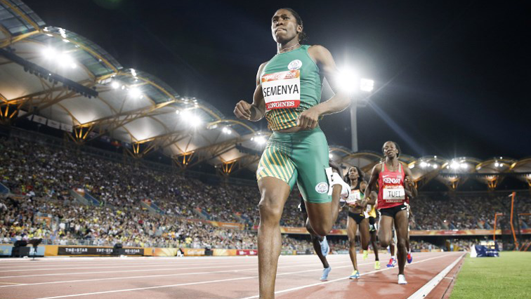SABC News Caster Semenya AFP - ASA to appeal CAS decision on Semenya