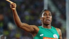 Gold Coast 2018 Commonwealth Games - Women's 800m - Final - Carrara Stadium - Gold Coast, Australia - April 13, 2018. Caster Semenya of South Africa.