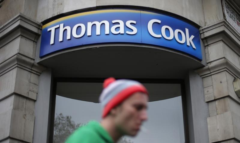 SABC News Cook Reuters - British holidaymakers flood concerns on Thomas Cook after share price collapse