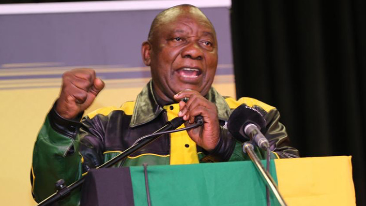 SABC News Cyril Ramaphosa Twitter @MYANC 2 - Ramaphosa says only ANC can take SA forward