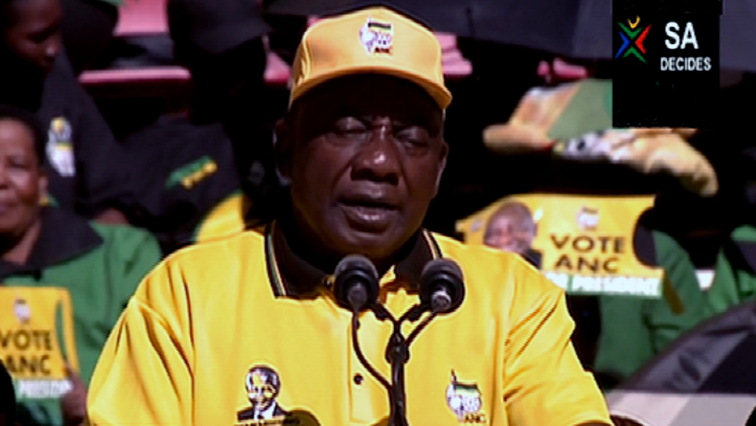 SABC News Cyril Ramaphosa - ANC victory is certain: Ramaphosa