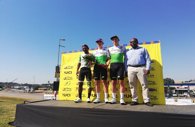 SABC News Data - Team Qubeka dominates podium on day 2 of Tour de Limpopo