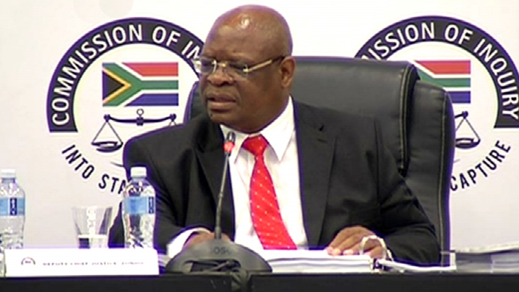 SABC News Deputy Chief Justice Zondo 1 1 - Former Transnet employee to take stand at Zondo Commission