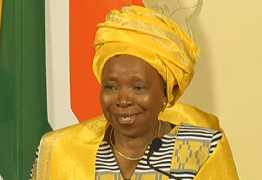 SABC News Dlamini Zuma 1 - Cost cutting measures taken for presidential inauguration: Presidency
