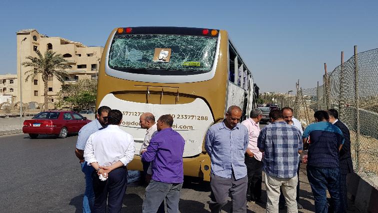 Edypt bus blast.