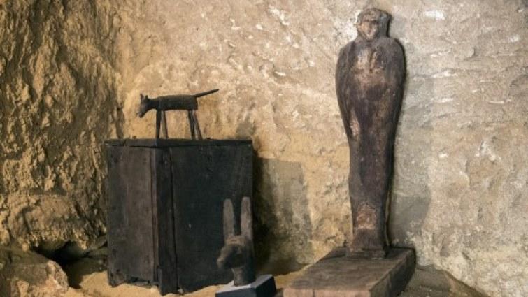 SABC News Egypt Cemetery AFP 1 - Egypt uncovers Old Kingdom cemetery