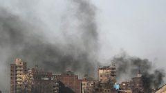 Egypt in smoke