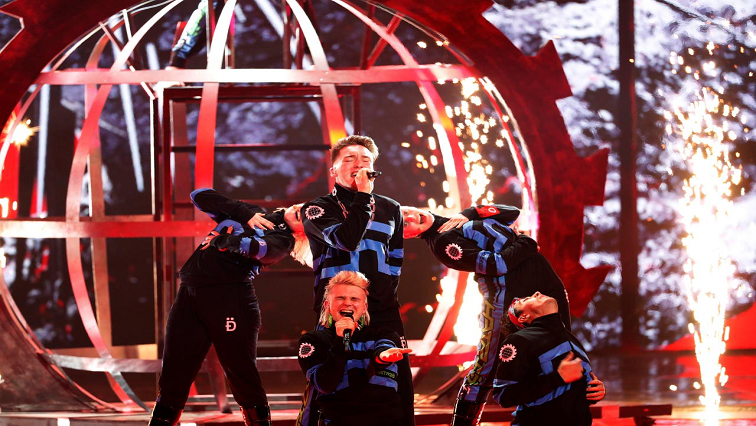 "SABC News Eurovision Hatari band R - Israeli host expecting Eurovision ""punishment"" for Iceland's Palestinian flag display"