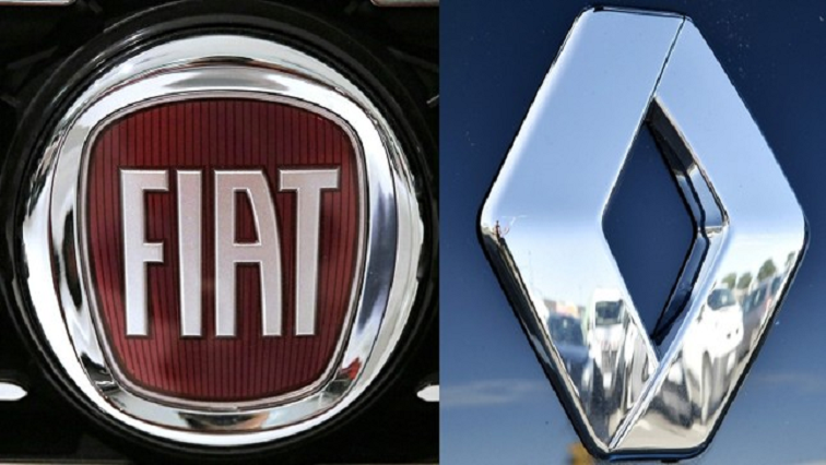 SABC News Fiat Renault AFP - Renault shows 'interest' in Fiat Chrysler merger offer