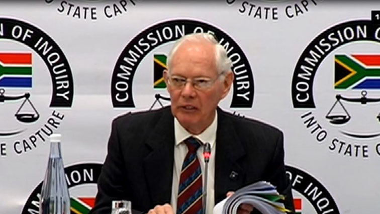 SABC News Francis Callard 2 - Callard to continue with his testimony at the State Capture Inquiry