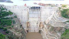 Ethiopia's GIBE III hydropower dam.
