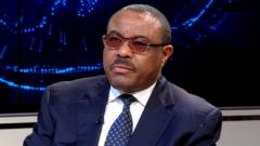 Hailemariam Desalegn Boshe on Morning Live