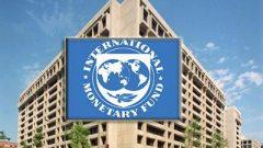 IMF logo on building
