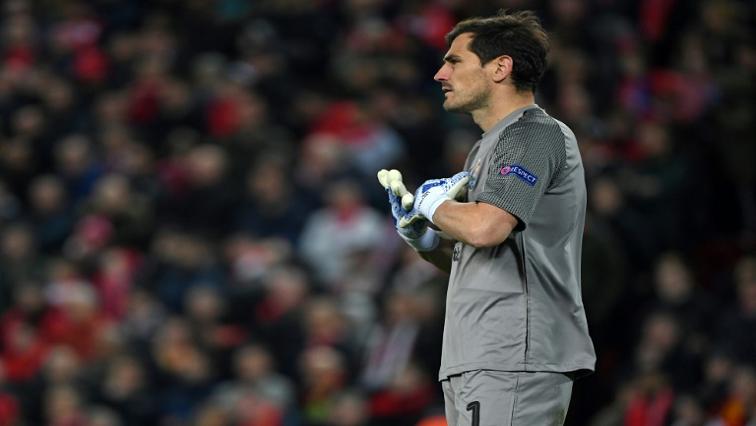 SABC News Iker Casillas AFP - Ex-Spain goalkeeper Casillas stable after heart attack – FC Porto