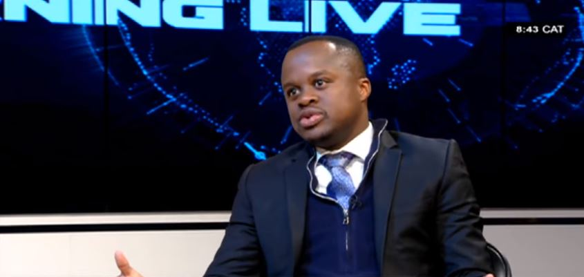 Kgabo Morifi, a board member of the South African Association of Public Administration and Managment (SAAPAM) during an interview on Morning Live.