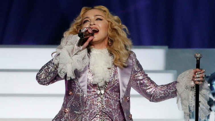 SABC News Madonna.png R - Madonna, on Eurovision, says she won't bow 'to suit someone's political agenda'
