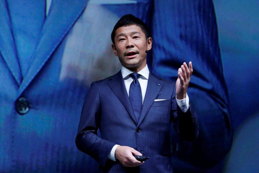 SABC News Maezawa Reuters 863x577 - Cash strapped fashion tycoon Maezawa plans to auction artworks