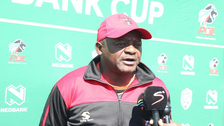 SABC News Malisela Twitter - We made Nedbank cup a priority – Malesela