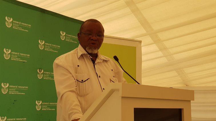 SABC News Mantashe Exxaro @GwedeMantashe1 - Mantashe hails Wescoal partnership as a 'great milestone'
