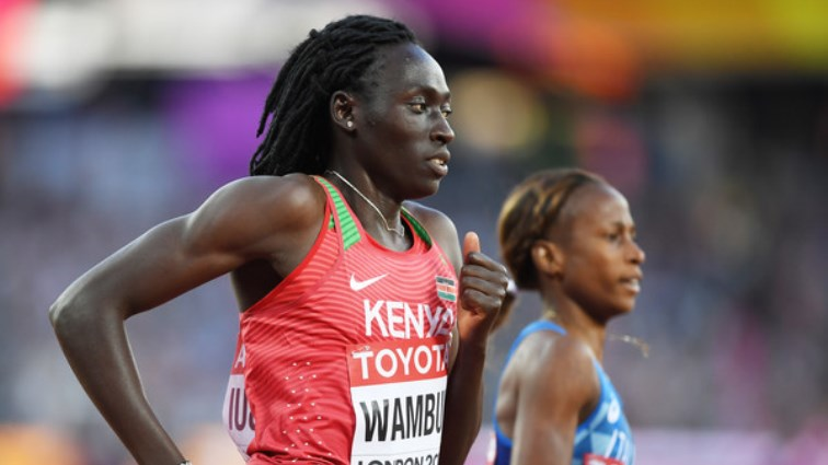 SABC News Margaret Wambui Getty Images 1 - Kenya's Wambui fears testosterone rules will end career