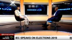 IEC Deputy Chief Electoral Officer Masego Sheburi speaks on elections.