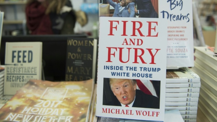 SABC News Michael Wolff AFP - 'Fire and Fury' author to publish new tell-all on Trump