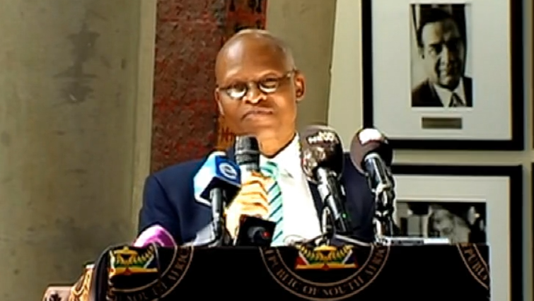 SABC News Mogoeng P - Mogoeng appeals to chosen MPs, MPLs to strengthen SA's democracy