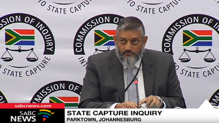 SABC News Mohammed Mahomedy - Transnet's Mohammed Mahomedy takes the stand at State Capture Inquiry