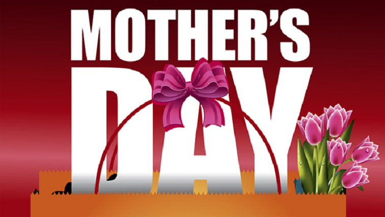 Mother's Day poster with flowers