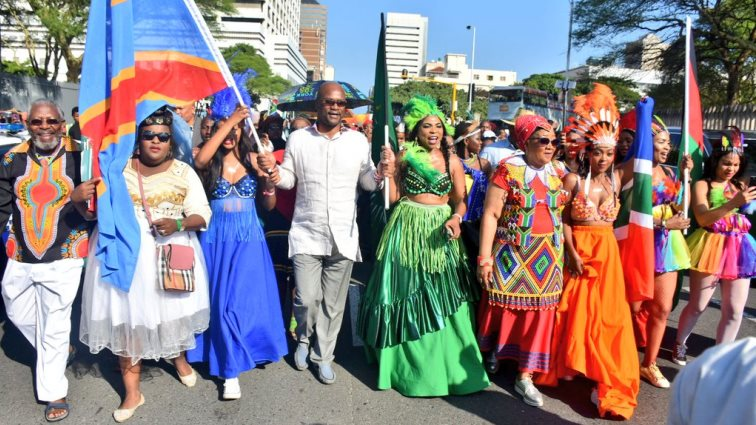 SABC News Mthethwa Africa @NathiMthethwaSA - Minister Mthethwa calls on Africans to support one another