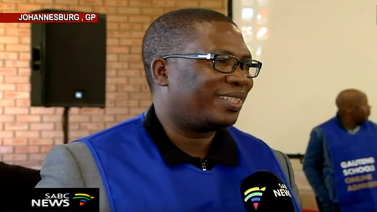 SABC News Panyaza Lesufi 3 - Gauteng schools online applications proceed despite slow start