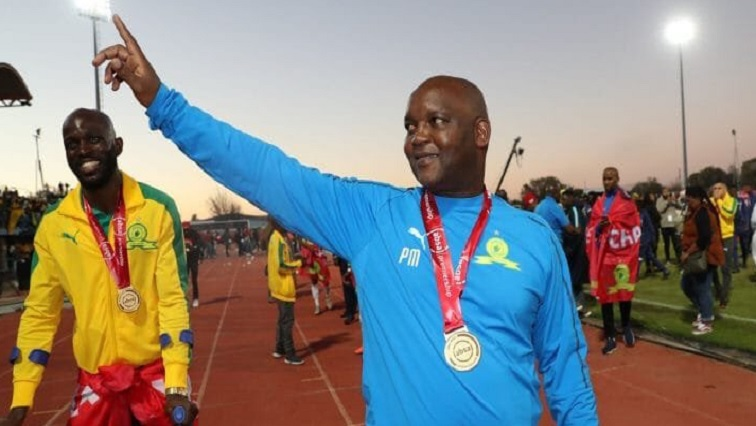 SABC News Pitso Twitter 1 - Hunt welcomes Mosimane to exclusive four-title club