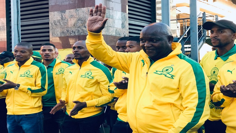 SABC News Pitso Twitter 4 - Wydad have got an edge in CAFCL final: Mosimane