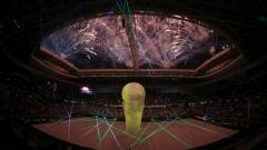 Qatar World Cup stadium.