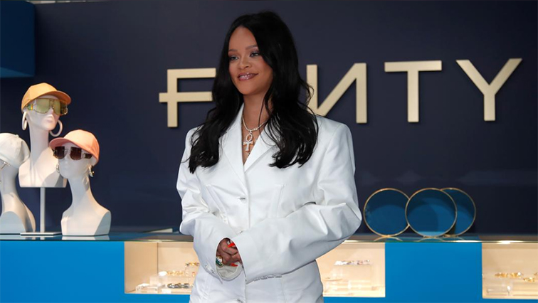 SABC News Rihanna R - Rihanna launches new fashion brand in Paris with LVMH