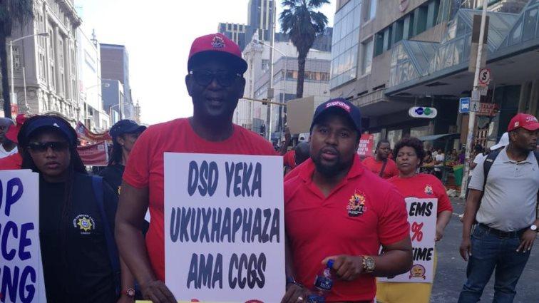 SABC News SAFTU Vavi @SAFPU Official - Vavi preaches unity among workers to build solidarity