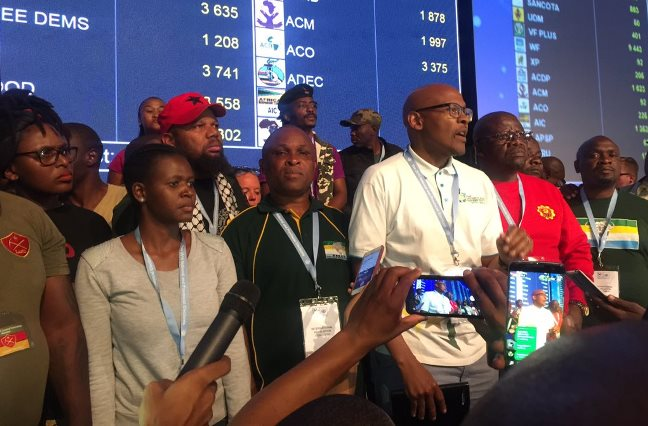 SABC News SMALLERPARTIES ROC. - Smaller parties lash out at IEC, call for rerun of the elections