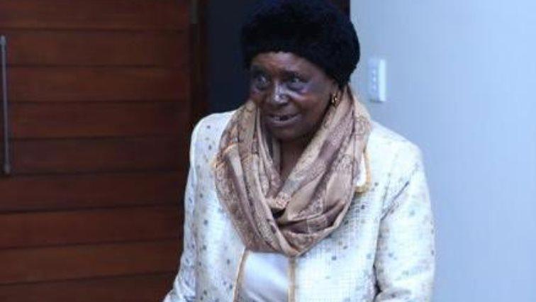 Sarah Mathebu Malema.